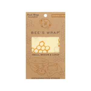 Bee's Wrap Set Of 3 Assorted Sizes