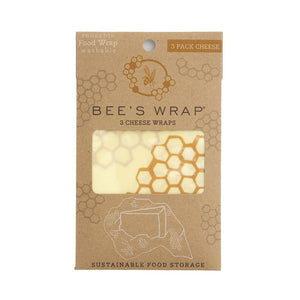 Bee's Wrap Set Of 3 Cheese Wraps