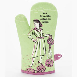 My Favourite Salad Is Wine Oven Glove