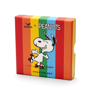 magpie-set-of-four-panuts-good-times-coasters-rollerskating-snoopy