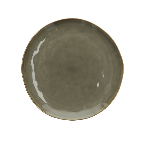 Grey Concerto Dinner Plate