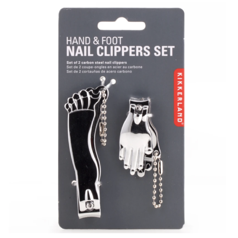 kikkerland-hand-and-foot-nail-clipper-set-in-silver