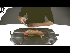 Blue Boc'N'Roll Reusable Sandwich Wrap