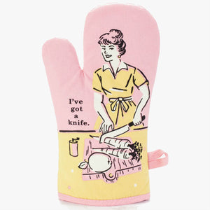 I've Got A Knife Oven Glove