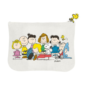 Peanuts Snoopy 'Gang & House' Pouch