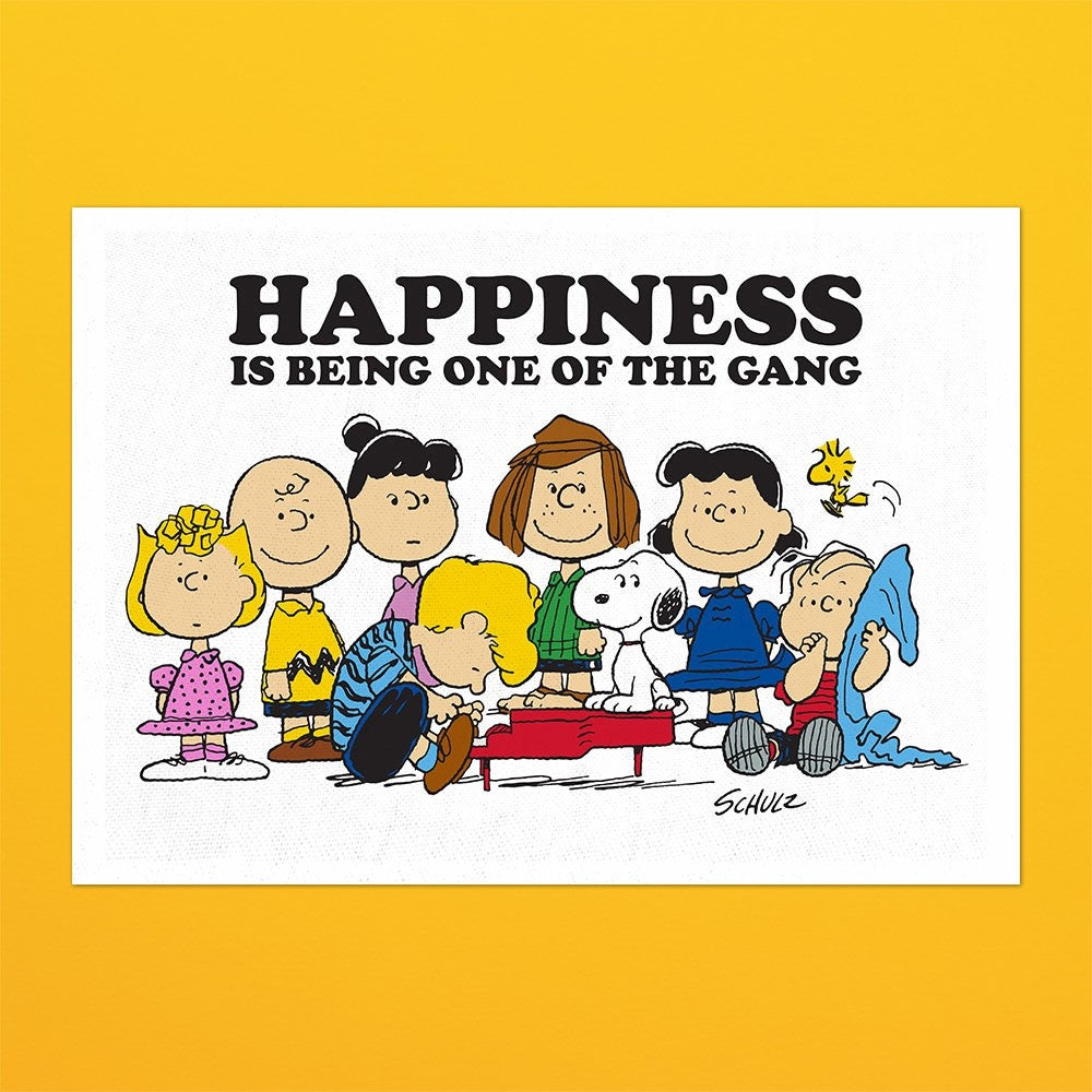 Peanuts Snoopy 'Gang' Tea Towel