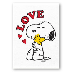 love-snoopy-tea-towel-snoopy-and-woodstock-hug-love-tea-towel
