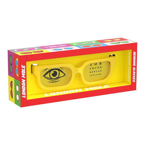 the-london-mole-matt-yellow-icy-reading-glasses-box