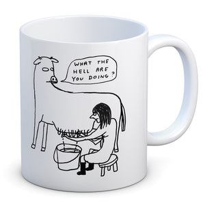 what-the-hell-are-you-doing-mug-by-david-shrigley-cow-milking-vegan-gift