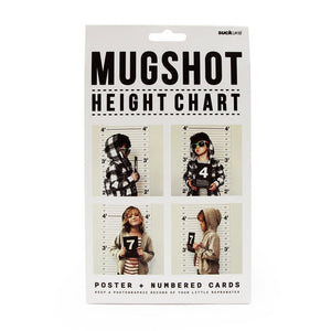 Mugshot Height Chart