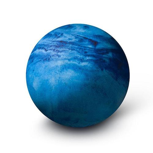 Large Blue Planet Paperweight