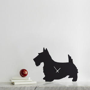 Scottie Dog Clock