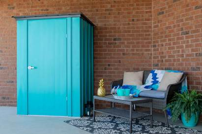 Arrow Teal Patio Shed