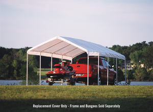 ShelterLogic Canopy Replacement Top - SuperMax 12 x 26 ft