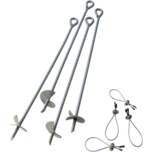 ShelterAuger Earth Anchors 30 in. 4-Pack