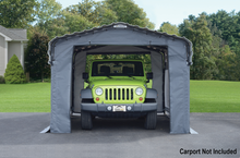 Load image into Gallery viewer, Arrow Enclosure Kit for 10 x 15 ft. Carport Grey