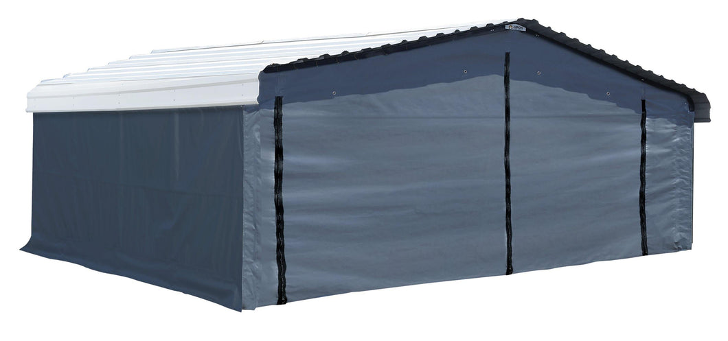 Arrow Carport 20 x 20 Enclosure Kit Carport Arrow