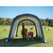 Load image into Gallery viewer, Run-In Shed-in-a-Box Round, 12 ft. x 20 ft. x 8 ft.