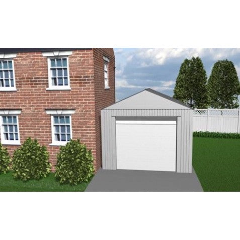 Sojag 12x25 Everest Steel Storage Garage Kit