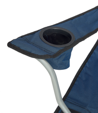 Load image into Gallery viewer, Quik Shade Deluxe Folding Chair - Navy/Black