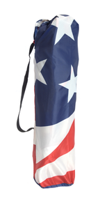 U.S. Flag Shade Folding Chair