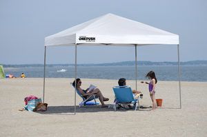 Quik Shade Expedition EX80 One Push 8 x 10 ft. Straight Leg Canopy
