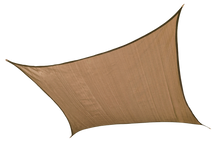 Load image into Gallery viewer, ShelterLogic 12 ft Square Shade Sail - Sand 230 GSM