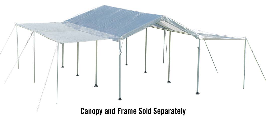 10×20 White Canopy Extension Kit, Fits 1-3/8
