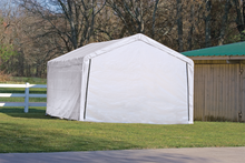 Load image into Gallery viewer, Canopy Enclosure Kit for the SuperMax 12ft. x 26ft. White