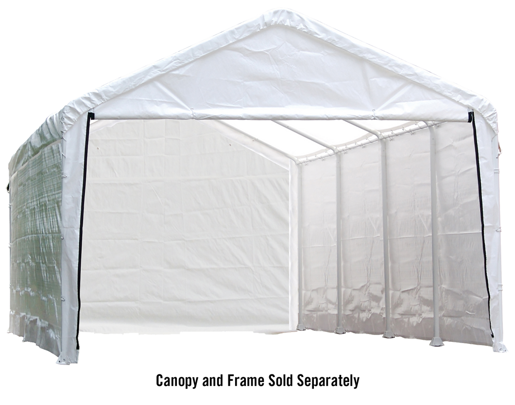 Canopy Enclosure Kit for the SuperMax 12ft. x 26ft. White