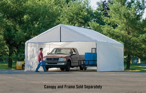 ShelterLogic 18×20 White Canopy Enclosure Kit