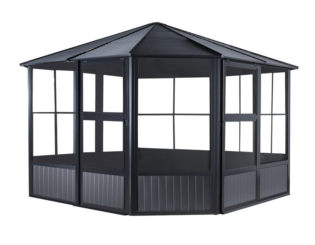Sojag Charleston Solarium with Mosquito Netting 12 x 12 ft Solarium, Gazebos Sojag
