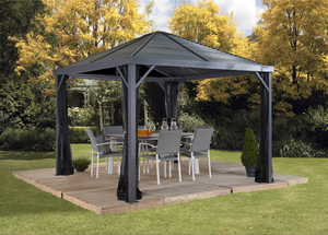 Sojag Sanibel Gazebo 8'x8' Steel Roof