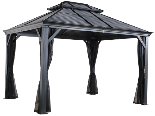Sojag Mykonos II No.93D Gazebo Steel Roof 10 x 12 ft