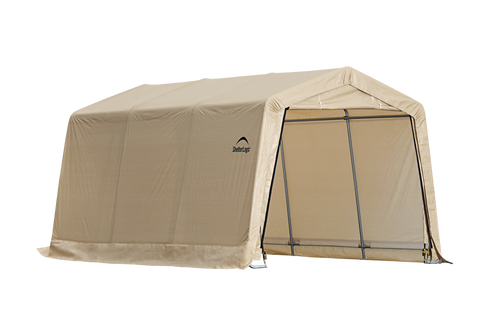 ShelterLogic 10 ft. x 15 ft. x 8 ft. Compact Auto Shelter Instant Garage, 1-3/8