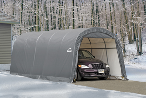ShelterLogic Garage-in-a-Box RoundTop 12 x 20 ft