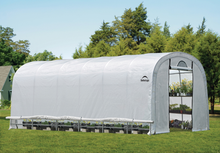 Load image into Gallery viewer, ShelterLogic GrowIT Heavy Duty 12 x 24 ft. Round Greenhouse