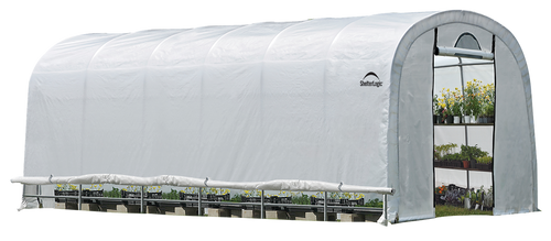 ShelterLogic GrowIT Heavy Duty 12 x 24 ft. Round Greenhouse