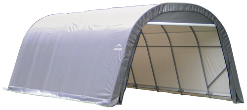 ShelterCoat 12 x 20 ft. Wind and Snow Rated Garage, Round