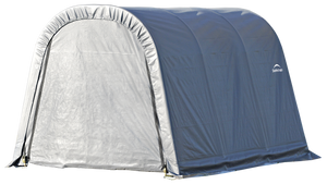 ShelterLogic 10x12x8 Wind and Snow Rated Round Style Shelter