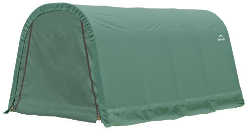 ShelterCoat 10 x 16 x 8 ft. Wind and Snow Rated Garage, Round Style Shelter