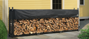 ShelterLogic Ultra Duty Firewood Rack with Cover