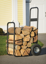 Load image into Gallery viewer, Haul-It Wood Mover - Rolling Firewood Cart