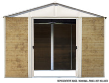 Load image into Gallery viewer, Arrow Ironwood Shed Frame Kit 8 X 8 FT.