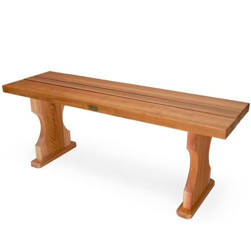 All Things Cedar 4 Foot Backless Bench