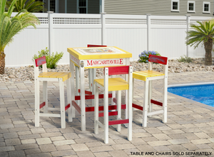 Margaritaville Bistro Table with Beverage Tub - One Particular Harbour