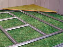 Load image into Gallery viewer, Arrow Shed Floor Frame Kit for 8 x 5 ft. for Admiral and Viking Sheds (Swing Doors)
