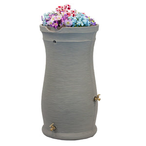 Good Ideas Impressions Capri 50 Gallon Rain Barrel