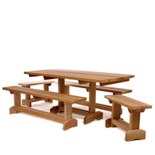 Load image into Gallery viewer, All Things Cedar 5-Piece 6' Market Table Set - Storage Sheds Depot