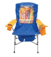 Load image into Gallery viewer, Margaritaville Suspension Chair, Bring Your Own Board, Teal/Orange